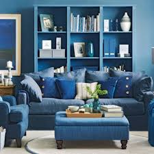 Dark Blue Living Room by Living Room Room Colour Blue Living Room Blue Family Room Blue