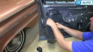how to install replace front power door lock actuator latch 2006