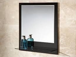 chrome bathroom mirror with shelf doherty house creating the