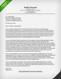 Example For Resume Cover Letter by Academic Cover Letter Sample Resume Genius