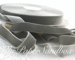 white velvet ribbon gray velvet ribbon etsy