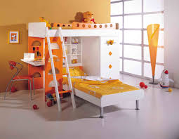 Build Bunk Beds by Kids Bunk Beds With Desk White Curtain How To Build Image Of