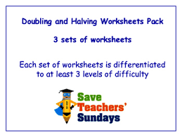 doubles and halves worksheets 2nd grade doubling and halving