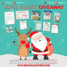 ezsantaletters com santa letter bundle giveaway