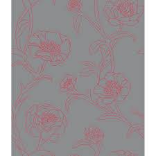 wall decor charming peonies self adhesive tempaper wallpaper for