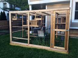 Cat house plans outside