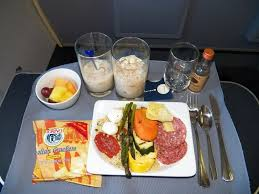 Cold Dinner Hd United Airlines Food Service First Class Domestic