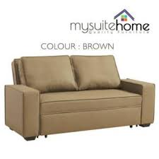 Leather Sofa Sale Melbourne by Sale Brand New Sofa Bed Pu Leather Fabric 3 4 5 Seater Beds