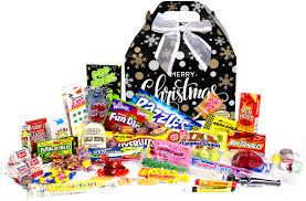 new candy items merry christmas retro candy gift box