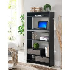 Standing Desk With Drawers by Furniture Of America Richmond Standing Desk In Black And Gray