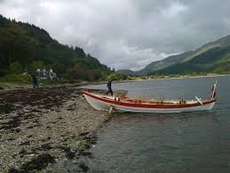 glorious day out as chippy mcnish visits loch goil royal west of