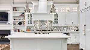 white kitchen cabinets with wood crown molding modern kitchen with white cabinets industrial lighting