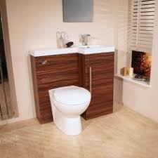 Combination Vanity Units For Bathrooms by Sienna Arc White Gloss Combination Vanity Unit Small Victoria
