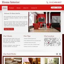 Home Interiors Website 38 Best Website Templates Images On Pinterest Fashion Design