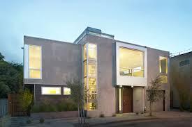 textured front facade modern box home box 2 by feldman architecture