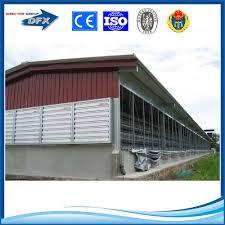 professional prefabricated steel structure piggery farm design