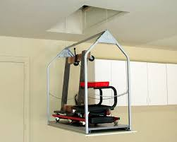 garage garage lift system attic storage â u20ac u201d home ideas