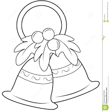 coloring pages christmas bell coloring pages mycoloring free