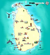 Sri Lanka On World Map by Exotichorizons Srilanka Map