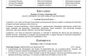 resume for college graduates resume marketing resumes samples unbelievable marketing cv