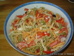 cuisine pates recette salade de pâtes à la mozzarella la cuisine familiale