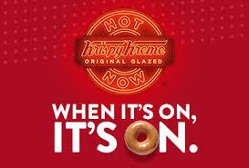 krispy kreme doughnuts coffee sundaes shakes drinks