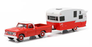 amazon com 1962 dodge d 100 pickup truck and shasta 15 u0027 airflyte