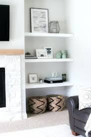 bookcase lighting ideas living room traditional fireplace mantel