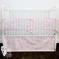 Shabby Chic Crib Bumper by Shabby Chic Toile Crib Convertible Baby Crib Bumper Rail Cov
