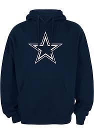 cowboys sweater dallas cowboys navy blue premier sleeve hoodie 41021182