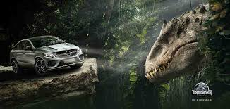 jurassic park car mercedes mercedes benz to support universal pictures jurassic world rmn stars