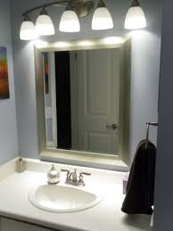Bathroom Mirrors With Lights by Best 25 Light Fixture Makeover Ideas On Pinterest Diy Bathroom