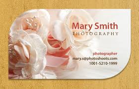 Creating Business Card How To Create Business Cards For A Photography Company