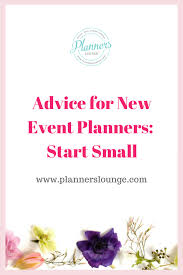 how to start a wedding planning business advice for new event planners start small