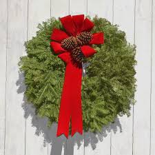 christmas reefs balsam wreaths buy online handmade fresh christmas wreath in usa