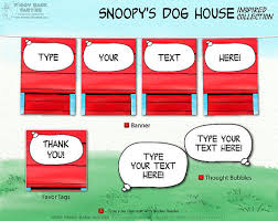 snoopy u0027s dog house inspired collection diy piggybankparties