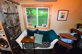 tiny house walk through interior basics living room the tiny house couch