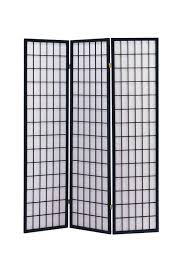room divider stand amazon com acme 02284 71 inch high black wood folding screen