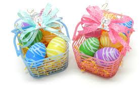 easter egg basket easter egg basket with a mini bowdabra bow diy easter crafts