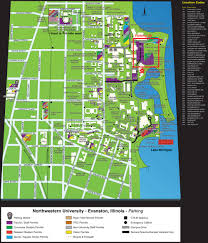 Chicago Permit Parking Map by Kellogg Alumni Entrepreneur Conference