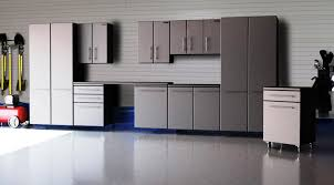 Plywood Garage Cabinet Plans Exterior Welcoming Garage With Plywood Storage Also Cabinet Led