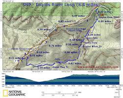 Skyline Drive Map Snp Doylesriver Jpg