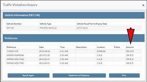 Ministry Of Interior Saudi Arabia Traffic Violation How To Check And Pay Qatar Traffic Violation Fines Online Sirhow