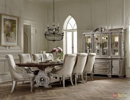 7 pc dining room set homelegance orleans ii white wash traditional 7pc formal dining room