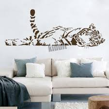 compare prices on blacke tiger wall stickers online shopping buy