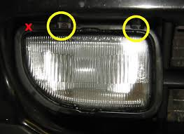 toyota mr2 fog lights mr2 fog light removal and bulb replacement how to