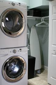 Laundry Room Storage Between Washer And Dryer by Remodelaholic Small Laundry Room Makeover