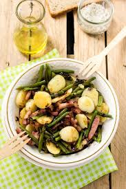 cuisiner haricot vert recette haricots verts au lard