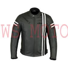 gsxr riding jacket speed 2 mens retro fashion leather motorcycle black jacket with armour