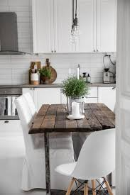 White Kitchen Tables by Best 25 Rustic Table Ideas On Pinterest Wood Table Kitchen